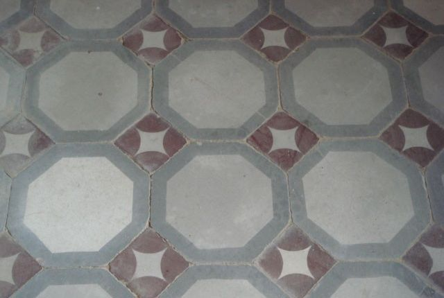 Floor Tiles of Villa Bigi, Pozzuolo, Umbria