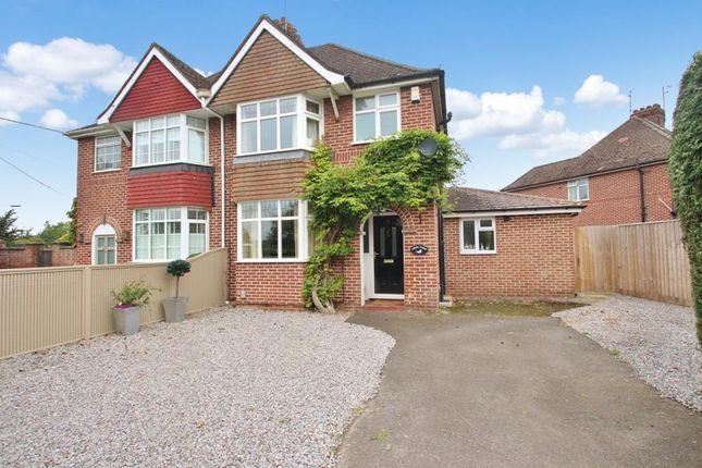 Thumbnail Semi-detached house to rent in Swinburne Road, Abingdon, Oxfordshire
