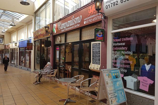 Thumbnail Restaurant/cafe to let in Shoppers Walk Arcade, Swansea