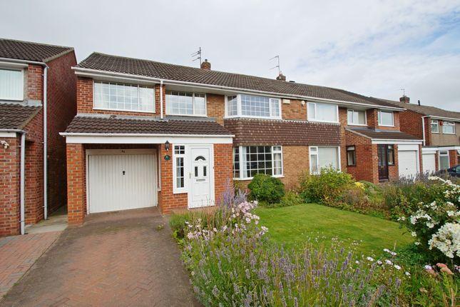 Thumbnail Semi-detached house for sale in Devonshire Road, Belmont, Durham
