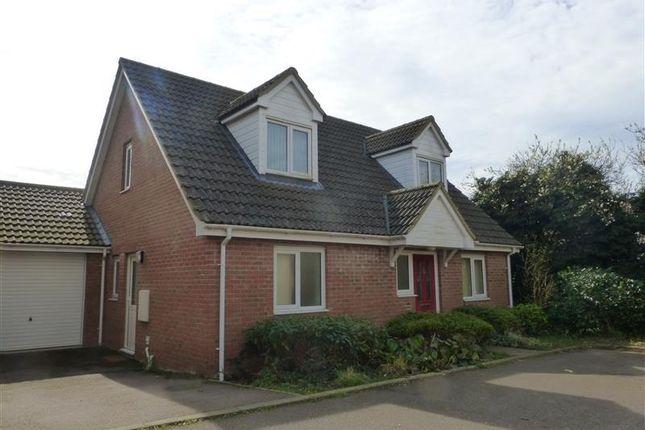Thumbnail Detached house to rent in School Close, Lakenheath, Brandon