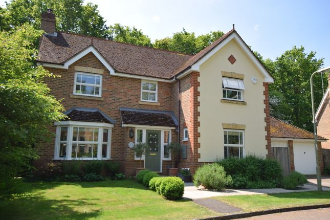 Thumbnail Detached house to rent in Knox Close, Church Crookham, Fleet