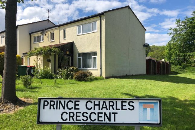 Thumbnail End terrace house for sale in Prince Charles Crescent, Malinslee, Telford