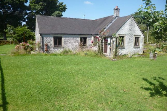 Thumbnail Detached bungalow for sale in Grindon, Nr Leek, Staffordshire