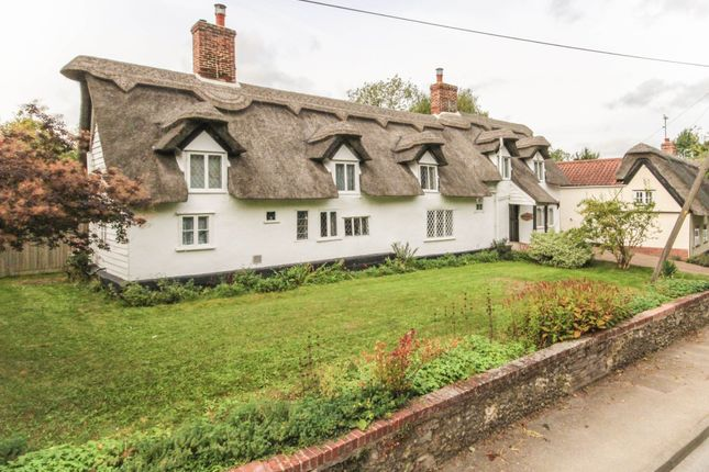 Thumbnail Cottage for sale in The Street, Lidgate, Newmarket