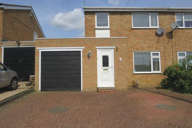 Thumbnail Semi-detached house for sale in Lynford Way, Rushden