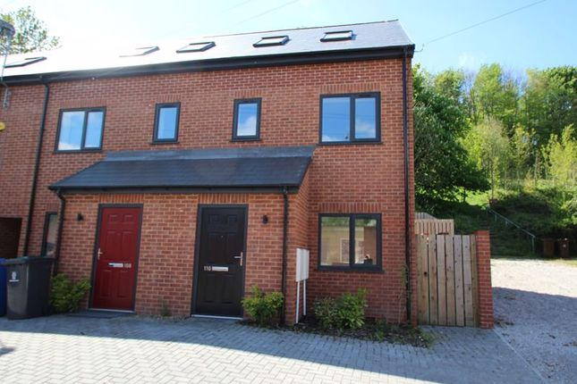 Thumbnail Town house to rent in North Street, Hartshill, Stoke-On-Trent