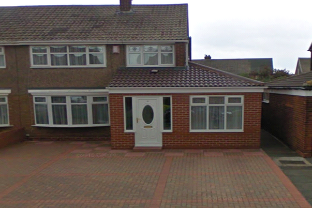 Thumbnail Semi-detached house to rent in Bilsdale Road, Hartlepool