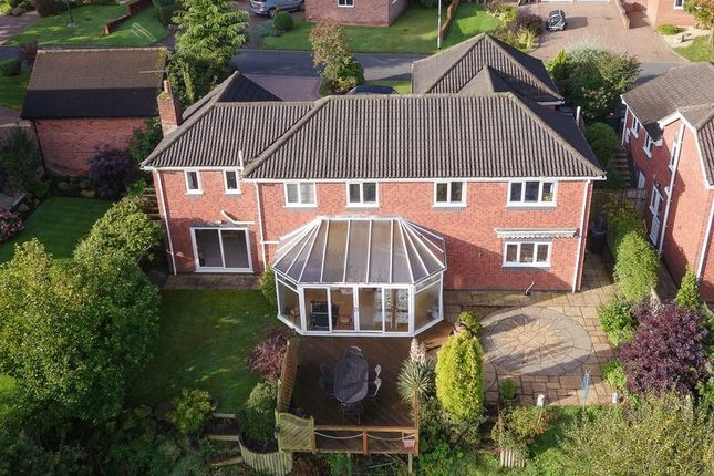 Thumbnail Detached house for sale in Walls Wood, Baldwins Gate, Newcastle-Under-Lyme
