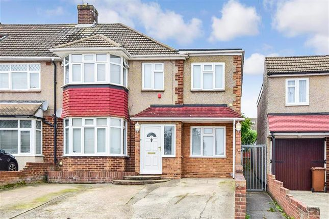 Thumbnail End terrace house for sale in Allington Drive, Strood, Rochester, Kent