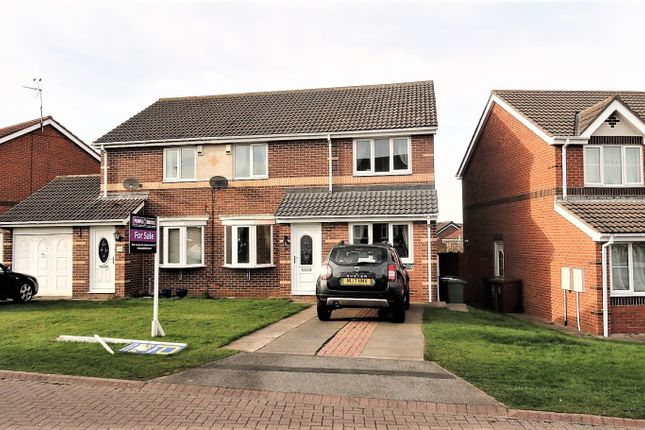 Thumbnail Semi-detached house for sale in Talland Close, Hartlepool