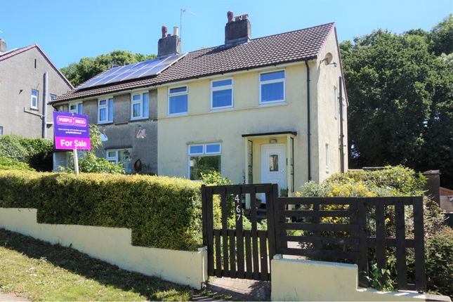 Thumbnail Semi-detached house for sale in Blandford Road, Plymouth