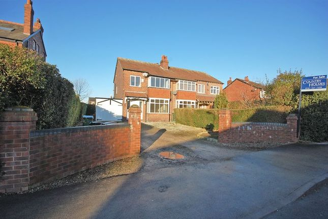 3 bed semi-detached house for sale in Cross Lane, Marple, Cheshire