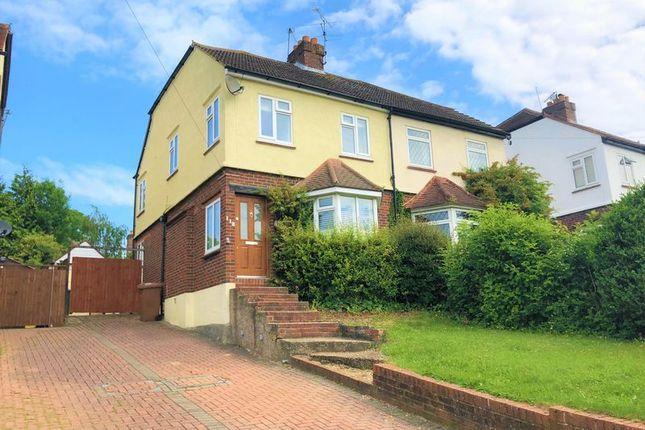 Thumbnail Semi-detached house to rent in Warren Road, Banstead