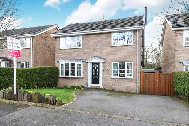 Thumbnail Detached house for sale in Park Avenue, Darley Dale, Matlock