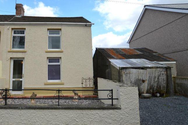 Thumbnail Semi-detached house for sale in Heol Rhyd Ddu Fach, Cwmllynfell, Swansea