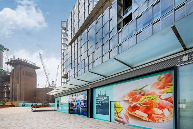 Thumbnail Property for sale in Halliday Building, One Bedroom, Battersea Power St