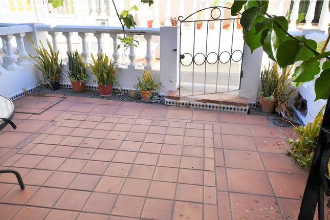 Terrace Entrance of Manilva, Costa Del Sol, Andalusia, Spain