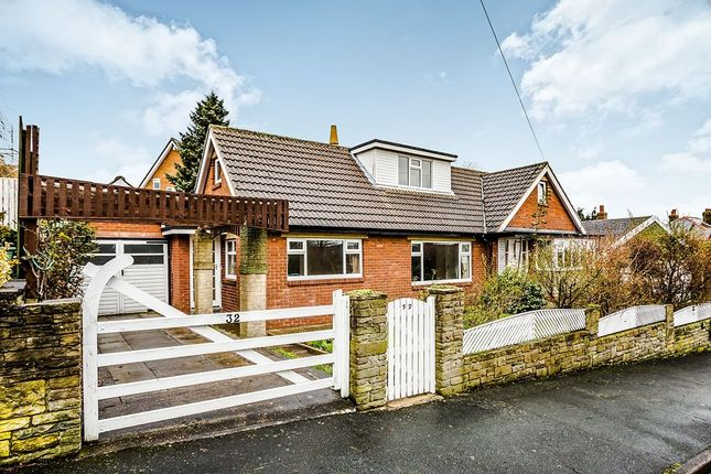 Thumbnail Bungalow for sale in North Cross Road, Cowcliffe, Huddersfield