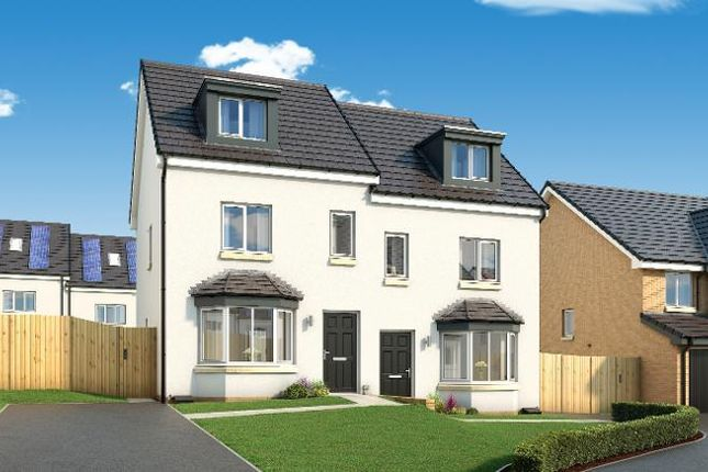 Thumbnail Town house for sale in The Roxburgh Early Braes, Hallhill Road, Barlanark, Glasgow