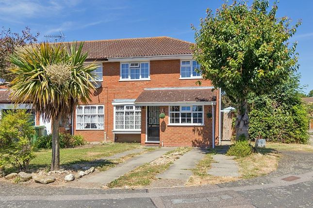 Thumbnail End terrace house to rent in Edyngham Close, Kemsley, Sittingbourne