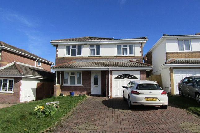 Thumbnail Detached house for sale in Cae Eithin, Llangyfelach, Swansea.