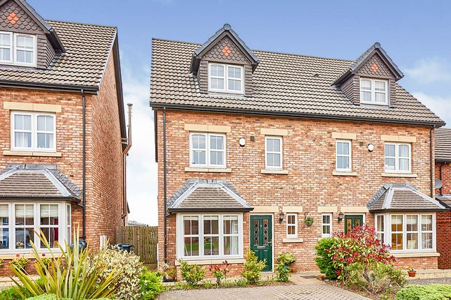 Thumbnail Semi-detached house for sale in Grange Close, Wigton, Cumbria