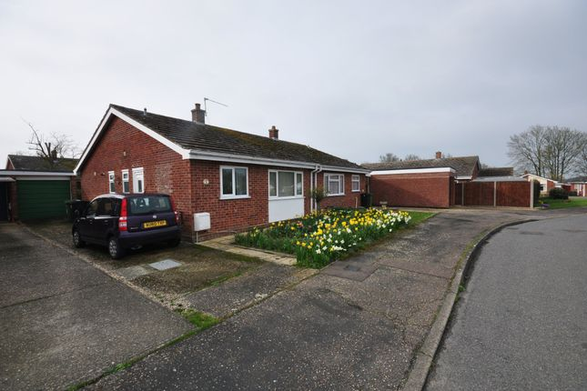 Thumbnail Semi-detached bungalow for sale in Twiss Close, Roydon, Diss