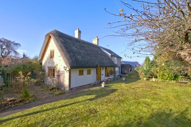 Thumbnail Detached house for sale in High Street, Fowlmere, Royston