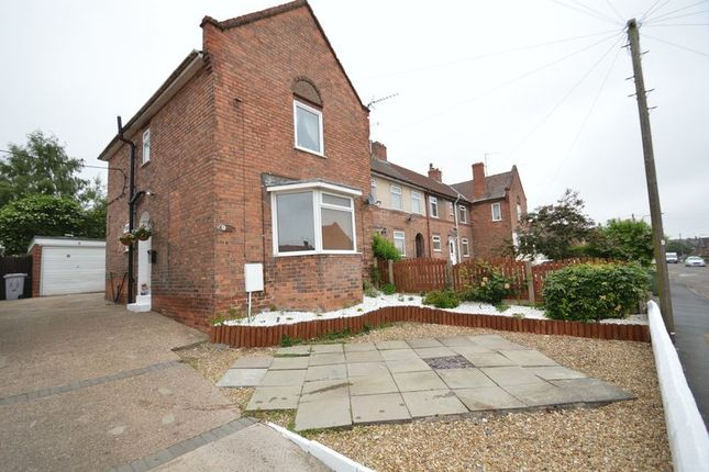 Thumbnail Terraced house for sale in Grange Road, Blidworth, Mansfield