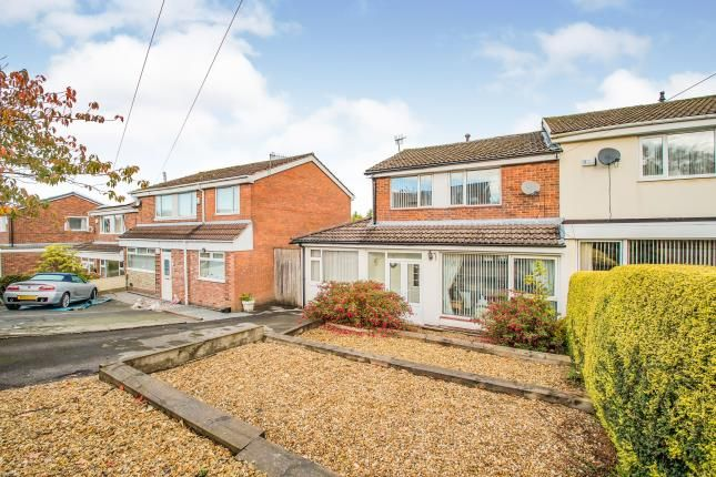 Thumbnail Semi-detached house for sale in Fairways Drive, Burnley, Lancashire