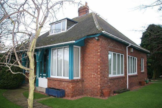 Thumbnail Detached bungalow for sale in Cheviot View, Ashington