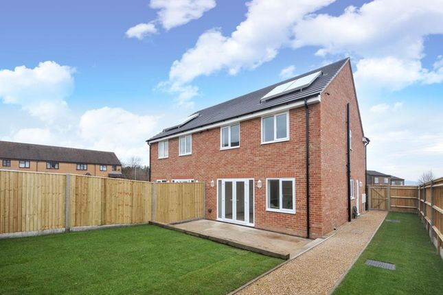 Thumbnail Semi-detached house for sale in Newbury, Berkshire