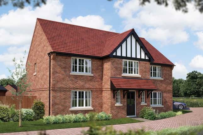 "Thumbnail Detached house for sale in ""The Truro"" at Burton Road, Streethay, Lichfield"