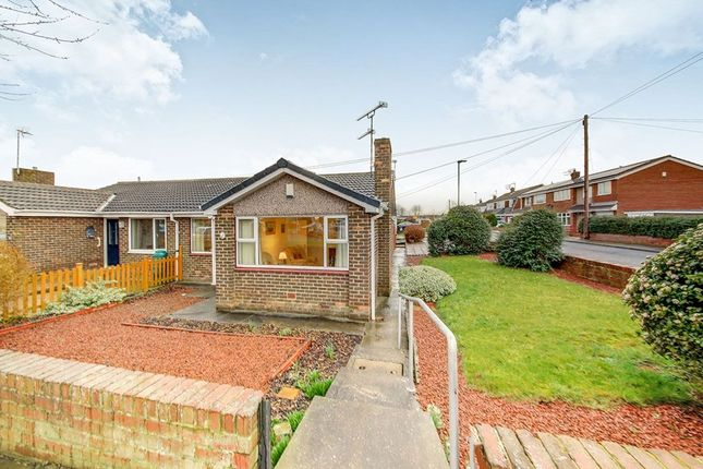 Thumbnail Bungalow for sale in Wallridge Drive, Holywell, Whitley Bay