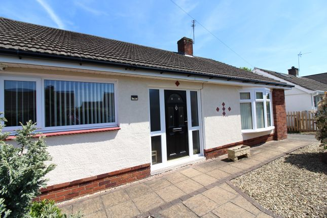 Thumbnail Detached bungalow for sale in Hampshire Avenue, Newport