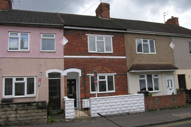 Thumbnail Terraced house to rent in Redcliffe Street, Swindon