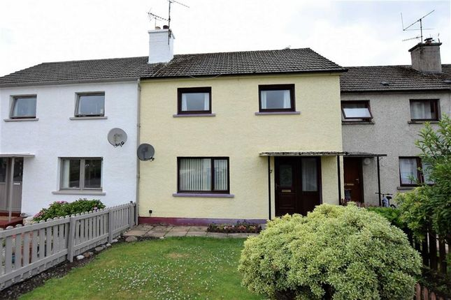 Thumbnail Terraced house for sale in Macrae Crescent, Dingwall, Ross-Shire