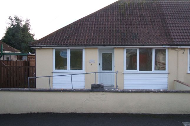 Thumbnail Bungalow to rent in Vale Crescent, St Georges, Weston Super Mare