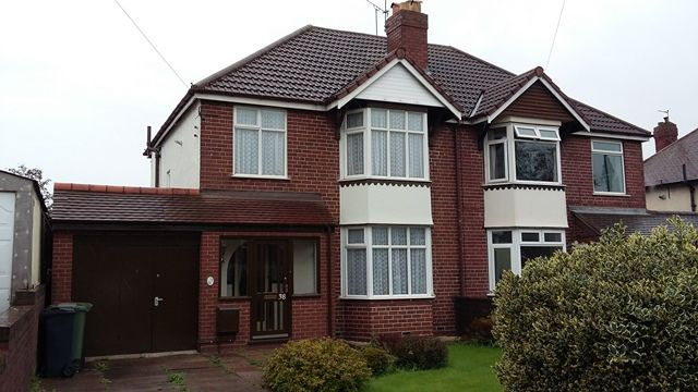 Thumbnail Semi-detached house to rent in Chester Road, Brownhills