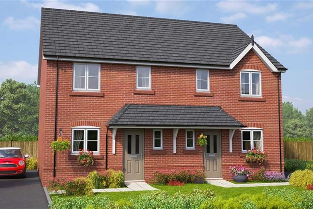 Semi-detached house for sale in The Brickworks, Bury, Lancashire