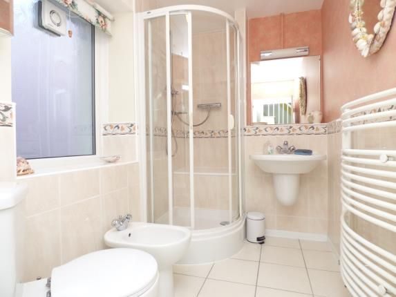 Shower Room of West End, Beaumaris, Anglesey, North Wales LL58