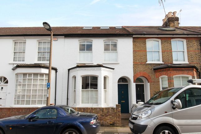 Thumbnail Terraced house to rent in Kings Road, East Sheen