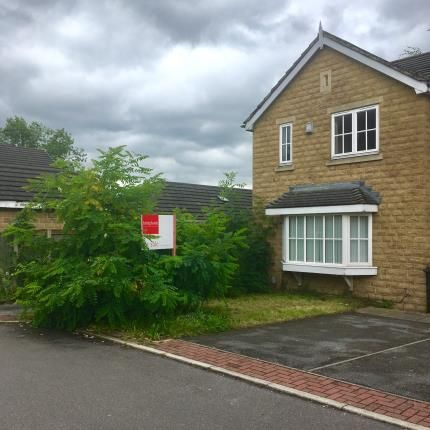 Thumbnail End terrace house for sale in Mill Avenue, Dalton, Huddersfield, West Yorkshire