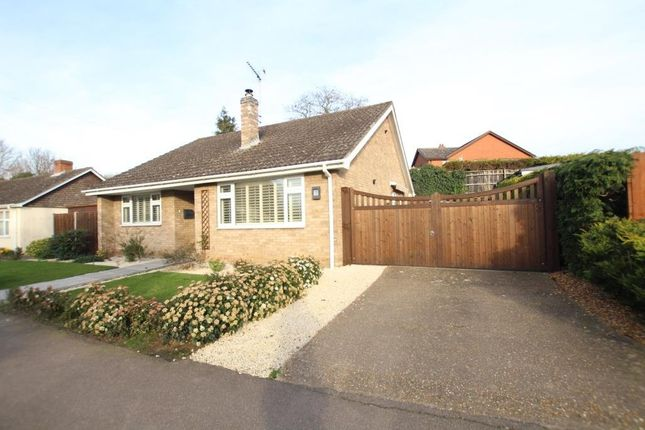 Thumbnail Detached bungalow for sale in Mereside, Soham, Ely