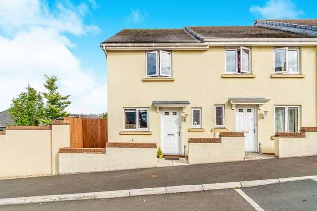 Thumbnail End terrace house for sale in Bridge View, Plymouth