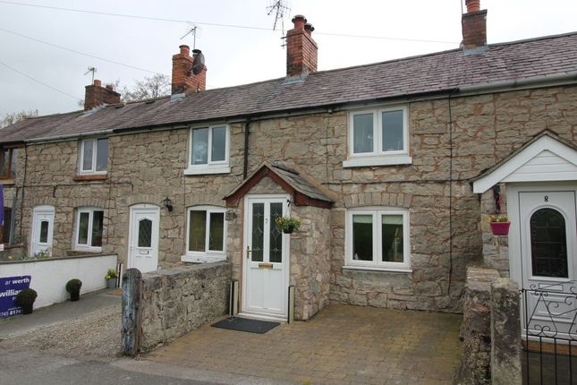 Thumbnail Terraced house to rent in Brookhouse, Denbigh