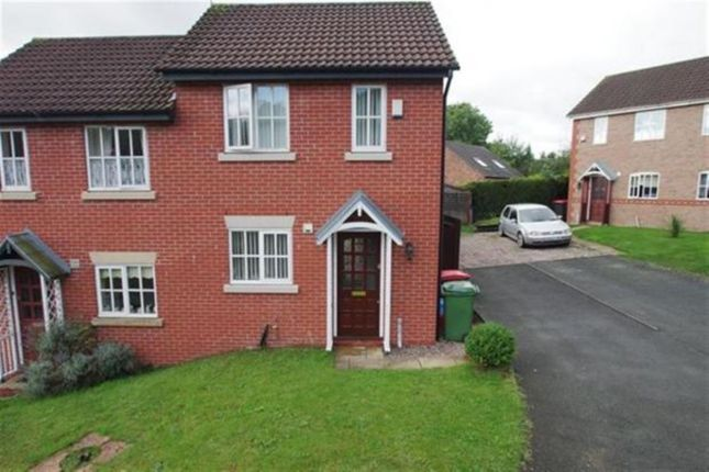 Thumbnail Semi-detached house for sale in Magpie Way, Aqueduct, Telford