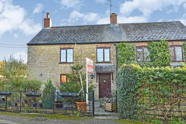 Thumbnail End terrace house for sale in Chestnut Road, Yardley Gobion, Towcester, Northants