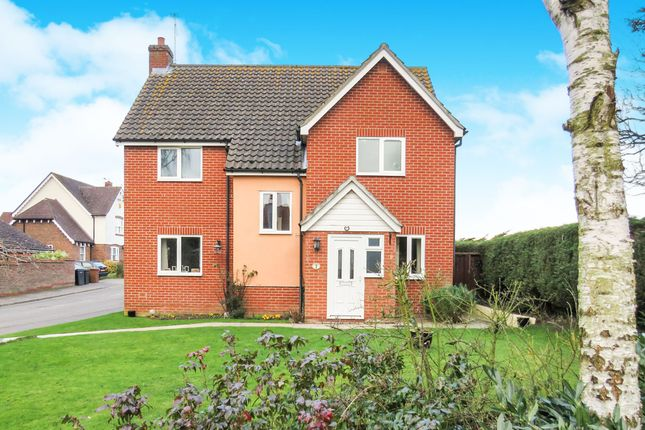 Thumbnail Detached house for sale in Ryders Way, Rickinghall, Diss